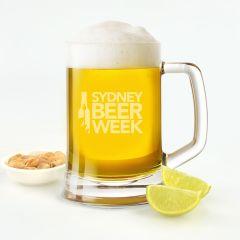 Engraved Promotional 500ml Beer Mug