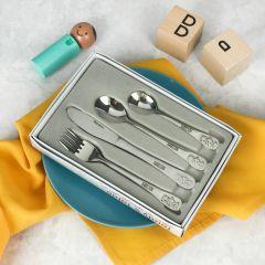 4 piece Children's Cutlery Set