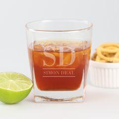 Engraved Scotch Glass
