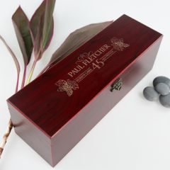 Stained Wine Box
