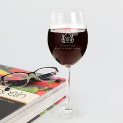 Engraved Promotional 360ml Wine Glass